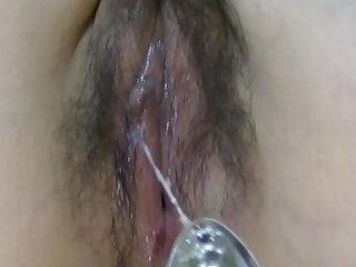 uncensored japanese  milf wife wet pussy   masturbation