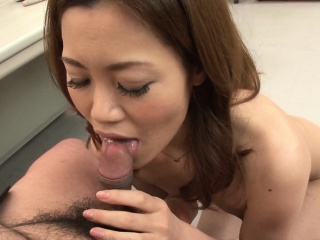 Office worker getting cunt fucked on the table