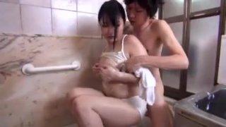 Hot Japanese Mom loves Sons Dick