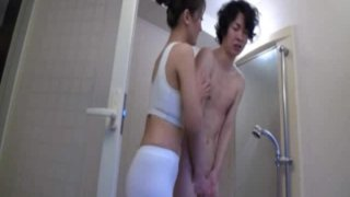 Japanese Mother Fucks Her Son(3)