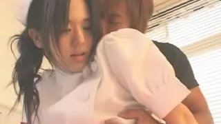 Patient fondles with his hot Korean nurse in hospital