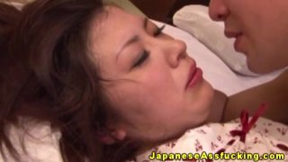 Anal loving japanese milf plowed in ass