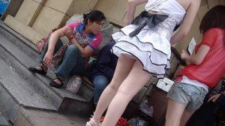 Chinese girl upskirt part 2