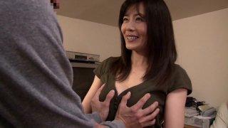 Hottest Japanese slut Eriko Miura in Crazy couple, wife JAV video