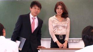 Crazy Japanese model Erika Nishino in Amazing handjobs, panties JAV video