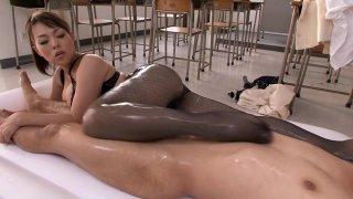 Fabulous Japanese whore in Best Stockings, HD JAV video