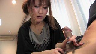 Yuki Maya is amusing her husband's naughty friend
