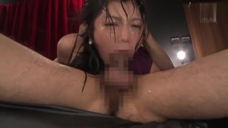 Aramura Akari crazy deepthroat secretary