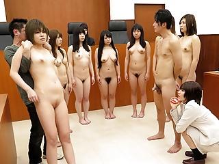 Japanese babe, Nonoka Kaede had group sex, uncensored