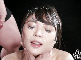 Yui Kawagoe hot Japanese bukkake