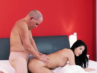 Old man cums in girl first time Older gentleman and his prin
