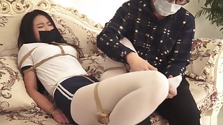 Student Pantyhose Bondage 0002