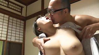 Astonishing porn video MILF check show