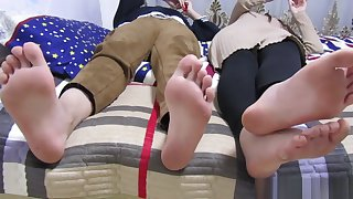 Chinese dirty feet