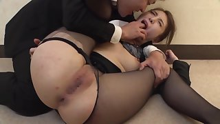 Amazing adult video Stockings crazy exclusive version