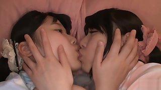18yo ✨️ Cuteness Overload Lesbian - 1080p FHD jav kissing kiss