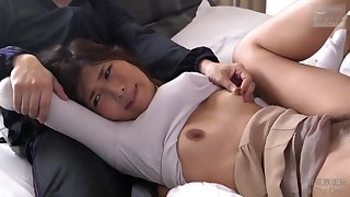 Japanese housewife does not mind cheating on her husband, even with a group of horny guys