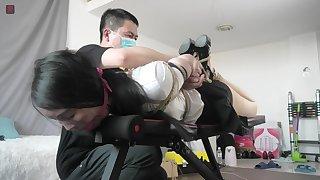 Bondage Orgasm Asian Chinese BDSM TienUp 00008