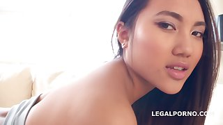 May Thai - Facialized with TAP May Thai 5on1 Balls Deep Anal, DAP, TP, TAP, GAPES, Multiple Facial GIO808