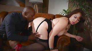 Asian Chubby Babe Interracial Porn