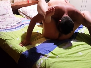 Asian Sex Position 69 With Wife At Home