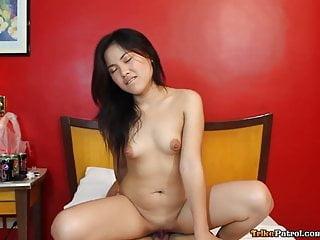 Pretty young fair-skinned Filipina angel has raw sex